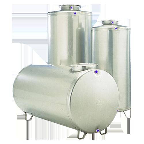 Cisterne in acciaio inox